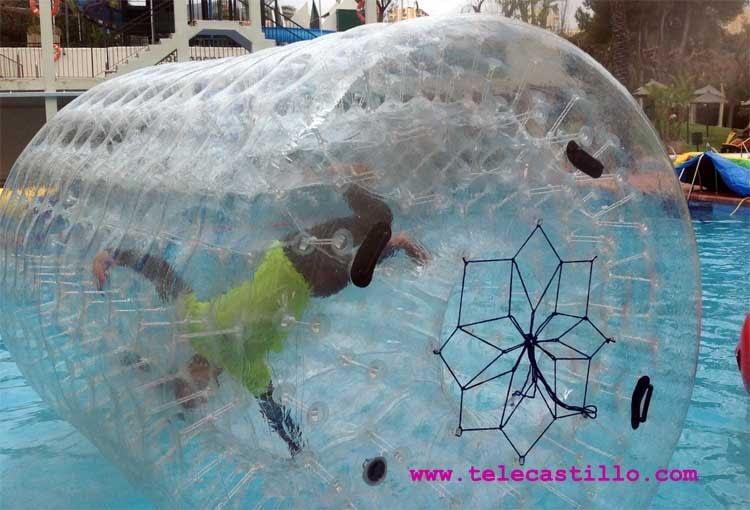 Alquiler hinchables acuaticos Málaga