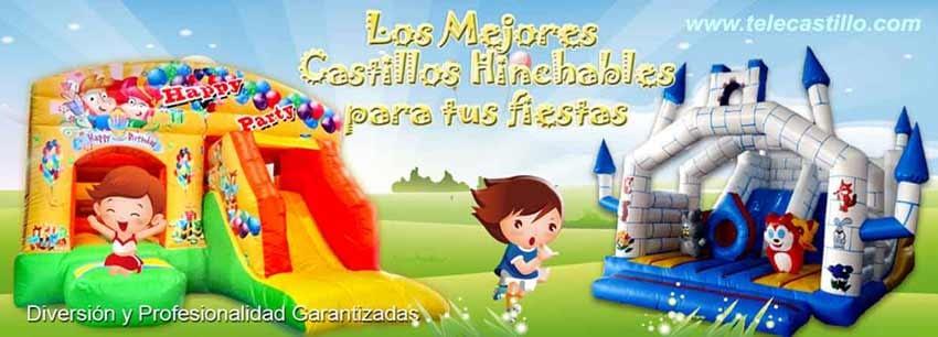 Castillos hinchables y Animaciones Infantiles en Málaga