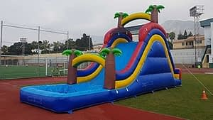 Alquiler castillos inflables acuaticos
