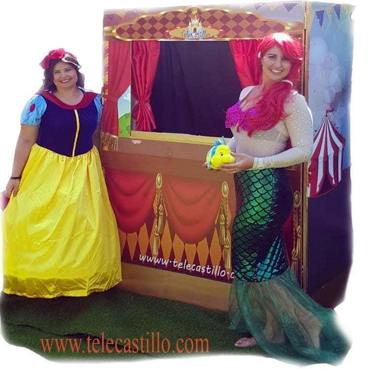 Espectáculo de Marionetas Y Títeres