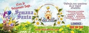 Semana Santa Málaga ofertas Hinchables animaciones