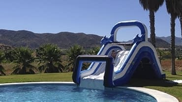 Tobogan acuatico para piscina