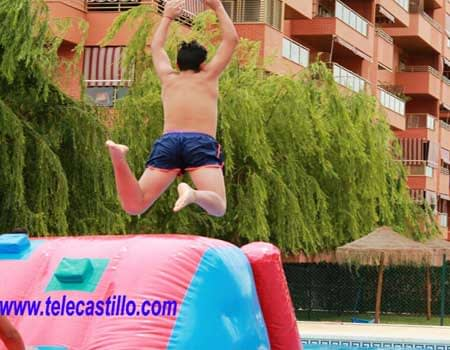 castillos hinchables acuáticos | Telecastillo®:Castillos Hinchables Malaga alquiler