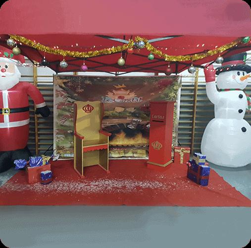 Animaciones fiesta de navidad Málaga