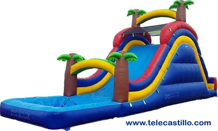 Alquiler Castillos inflables acuáticos