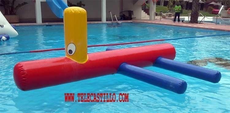 Hinchables acuáticos
